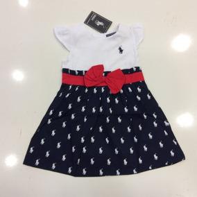Vestido De Niña Ralph Lauren De 3 Meses A 18 Meses