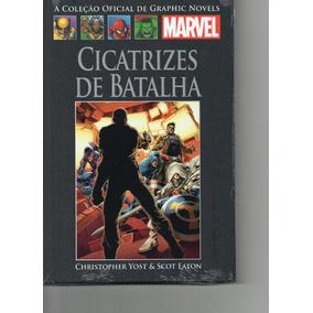 Coleção Livro Graphic Novels Marvel Ed. 123 Cicatrizes De Ba