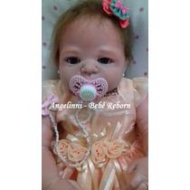 Bebê Reborn Thalia Silicone - Pronta Entrega! Molde Victória