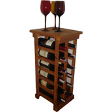 Adega Vinho 12 Garrafas Madeira Maciça