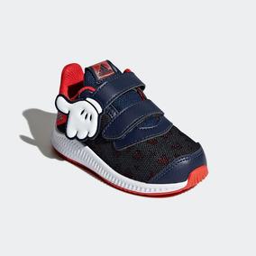 Tenis adidas Dy Mickey Bebe Azul/rojo 10-15 Zx Original.