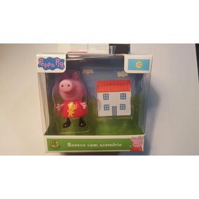 Boneca Peppa Pig - Peppa Com Casinha - Dtc - 4199