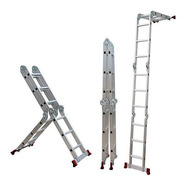 Escada Botafogo Articulada 4x3 Multifuncional 12 Degraus