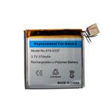 Bateria Ipo. Nano Tercera Generacion 3.7v 370mah Jny