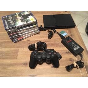Playstation 2 + Dos Mandos / Memoria Y Juegos2