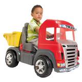 Carrinho De Pedal Caminhão Truck Pedal C/sons E Luzes 9300