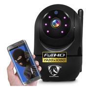 Camara Wifi Ip Full Hd Seguimiento Seguridad Vigilancia App Inalambrica Altavoz Vision Nocturna Alarma Microfono Espia