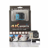 Camara 4k Sports 16mpx Reales Deportes Tipo Go Pro Wifi