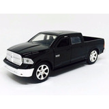Miniatura De Dodge Ram 1500 2013 Preta Just Trucks 1:32 Jada