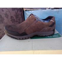Zapato Clarks 100% Cuero Color Café N° 42
