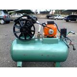 Compresor De Aire 2 Hp Cabezal De Dos Pistones