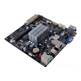 Combo Mother Micro Intel Quadcore Integrado Ecs J1900 Hdmi