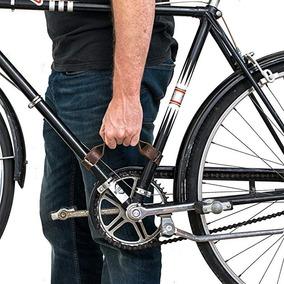 Rústica De Piel Bastidor De La Bicicleta Mango (mango Bicicl
