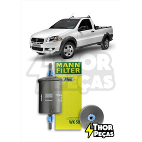 Filtro De Combustível Fiat Strada Pickup 2002-2018 Mann