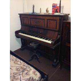 Piano Armário Alemão M Borkenhagen (1920) 3 Pedais
