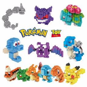 Mini Lego Do Pokemon Pikachu 27 Modelos 8bits Valor Unitario