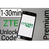 Código De Desbloqueo Cricket Zte Z832 Z755 Z983 Z813 Z815
