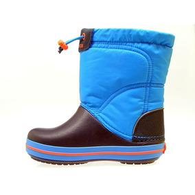 Botas De Lluvia Para Niños Crocs Lodgepoint Boot K / Bs