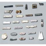 Etiquetas Metal P/roupas Brindes Acessorios Bijoux