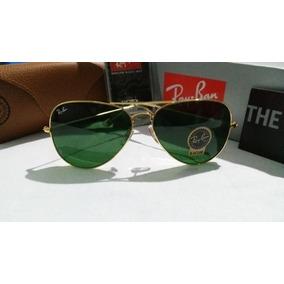 Ray Ban Rb 3025, Aviador Dourado Lentes G15 - Óculos no Mercado ... f265a06bbe
