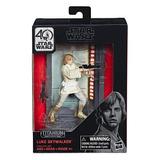Star Wars Titanium Series Luke Skywalker Figuras 3.75 Pulgad
