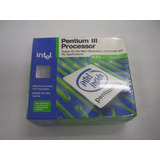 Procesador Intel® Pentium® Iii 933 Mhz, 256k Cache, 133 Mhz
