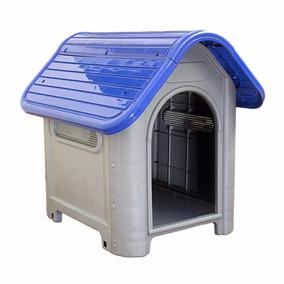 Casa Casinha Nº 3 Cachorro Plástico Melhor Frete Azul
