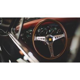Volante Momo California 360mm Madeira Carros Clássicos