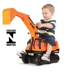Trator Escavadeira Gigante Infantil Giant Escavator Oferta !