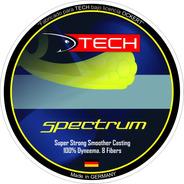 Multifilamento Pesca Pejerrey Tech Spectrum 0,12mm X 100mts