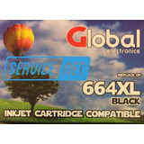 Cartuchos Compatible Global 664 Xl Negro