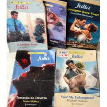 Pacote/lote Com 6 Romances Julia Florzinha
