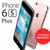 Apple Iphone 6s Plus 128gb A9 3g 4g 3d Touch 4k 12mp 2gb Ram