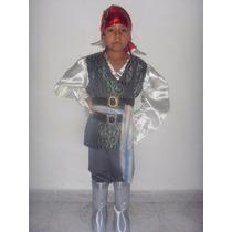 Disfraz Pirata Jack Sparrow Talla 6 Años Disfraces Halloween