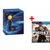 Kit Movie Com Camera Ps3 + Jogo The Fight: Lights Out