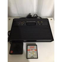 Atari 2600 Rf + 1 Controle + Jogo Brinde