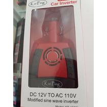Inversor De Corriente De 12v A 110v Para Automóvil