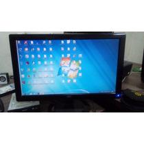 Monitor Aoc 20 Polegadas Lcd (com Faixa No Lado Direito)