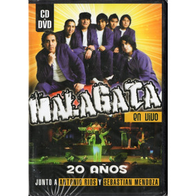 Malagata - Lote De 4 Cds + 1 Dvd - Los Chiquibum