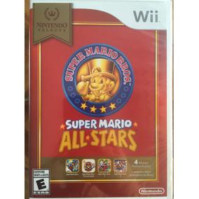 Super Mario All Stars Wii Nuevo Sellado Fisico Original