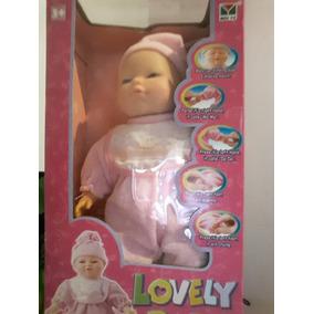 Muñeca Bebe Lovely Baby Rie Llora