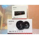 Auto Estéreo Sony Dsx-a100u Usb Con Bocinas 6.5 Pulgadas