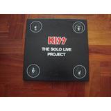 Kiss The Solo Live Proyect Box 4 Pictures Disc Lp Vinilo