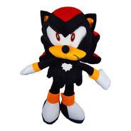 Peluche Sonic Shadow The Hedgehog Negro Adventure 40cm