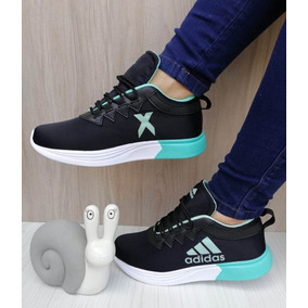 eec2102ce9 Adidas Zapatillas Mujer Botitas Nuevas Solo Deporte - Tenis Turquesa ...