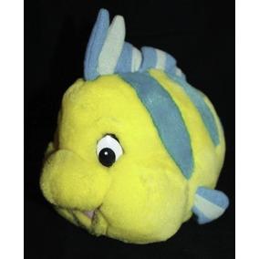 Peixe Linguado Pelucia - A Pequena Sereia - Gigante