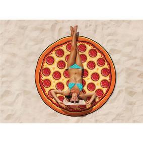 Toalla Forma Pizza Para Playa Bigmouth Inc
