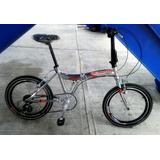Bicicleta Plegable Aluminio Nueva Rod 20 Benotto Utopia.