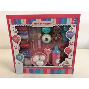 Kit Festa Do Cupcake Love Candy Com Ovoc- Formas - Conthey *