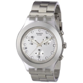 Reloj Unisex Swatch Full Blooded Plateado
